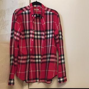 Checked shirt by Burberry